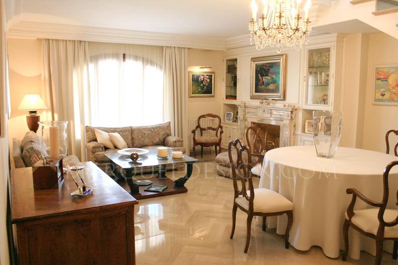 Marquel design muebles a medida web b sica e imagen for Interiores clasicos