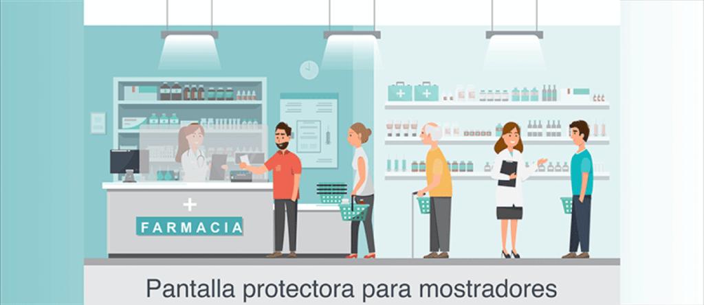 pantalla protección coronavirus